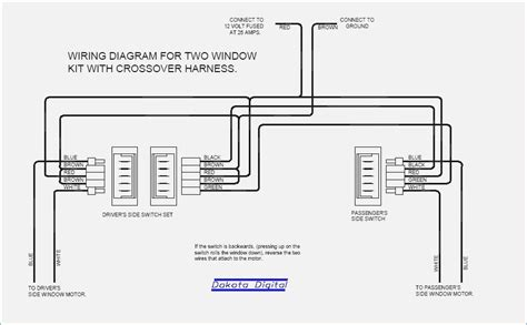wiring diagram for aftermarket power windows repair