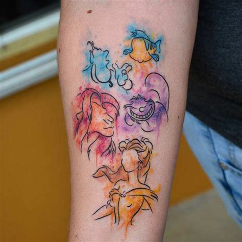 disney characters with tattoos 25 disney tattoos that are beyond page 2 of