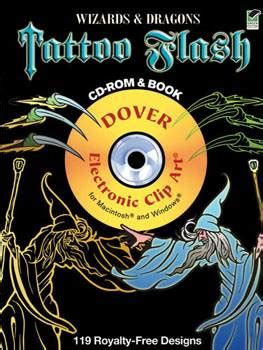 tattoo flash cd download wizards and dragons tattoo flash cd rom and book