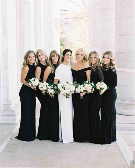 12 Bridesmaids Dresses Perfect for a Black Tie Wedding