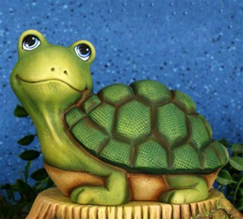 Garden Turtle by Ceramic Turtle Figurines Reversadermcream