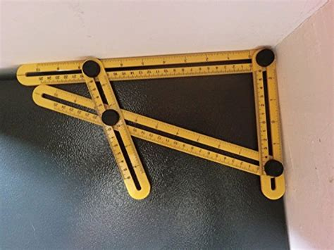 Penggaris 4 Sudut Four Sided Folding Ruler angleizer template tool by starrich abs measures all angles and forms angle izer angle template