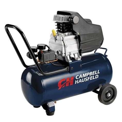 shop cbell hausfeld hausfeld 8 gallon portable electric horizontal air compressor at lowes