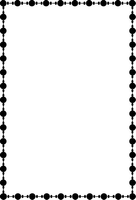 patterns black and white border black and white border designs cliparts co