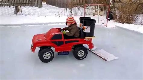 backyard rink zamboni best back yard zamboni ever backyard rink in london