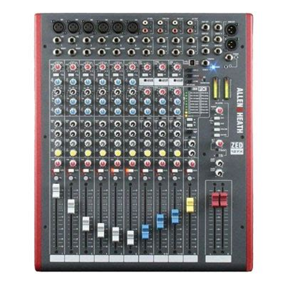 Mixer Audio Kecil portable mixer allen heath zed10fx paket sound system