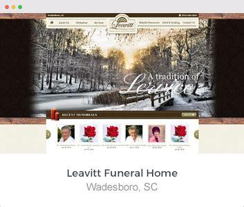 funeral home website design directors advantage