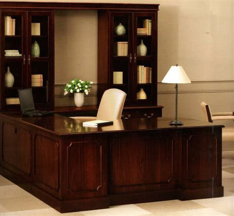 Living Room Attractive L Shaped Desk With Hutch Home Home Office Desk And Hutch