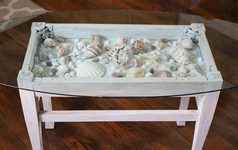beautiful diy shell decor    summer page
