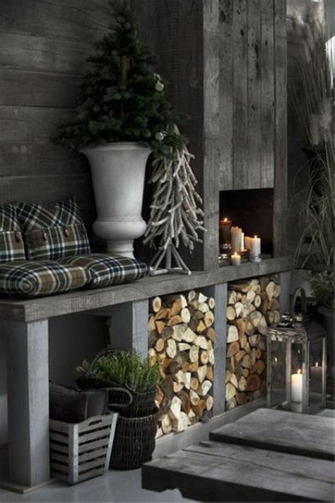 winter home decor 33 stylish shades of grey christmas decor ideas interior god