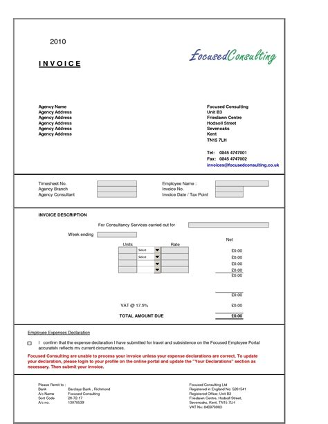typical invoice template typical invoice layout invoice template ideas