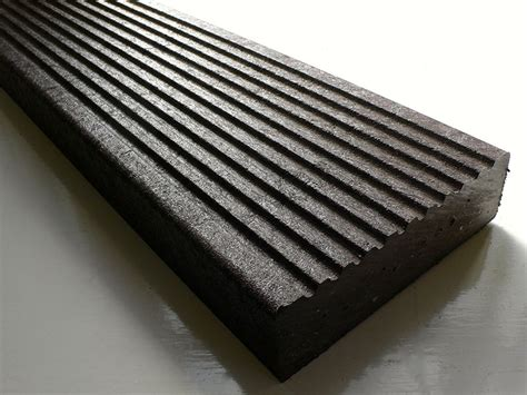 recycled mixed plastic footpath planks 165 x 48mm trade