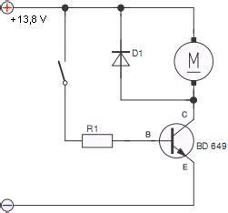 transistor npn als schalter tech ecke elektronik