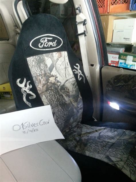 04 f 150 camo seat covers custom camo ford and browning seat covers ford f150