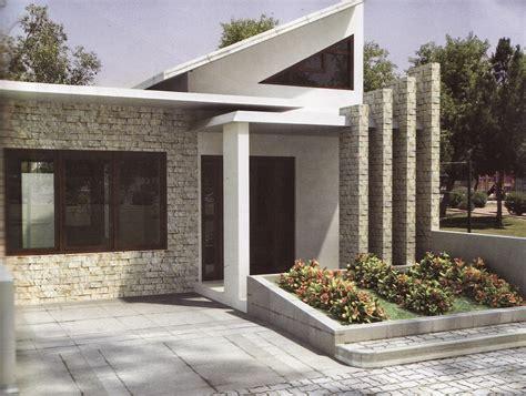 Kreatif Dan Dinamis Dengan Batu Alam model rumah minimalis unik wallpaper dinding