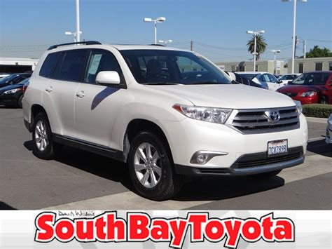 certified preowned toyota certified pre owned 2013 toyota highlander l 4dr suv in