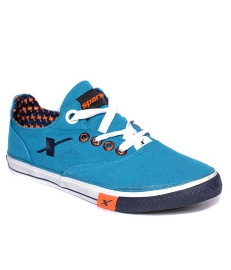 sparx blue lifestyle sneaker shoes buy sparx blue