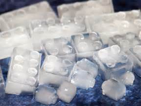 Make your own lego ice cube trays at home link