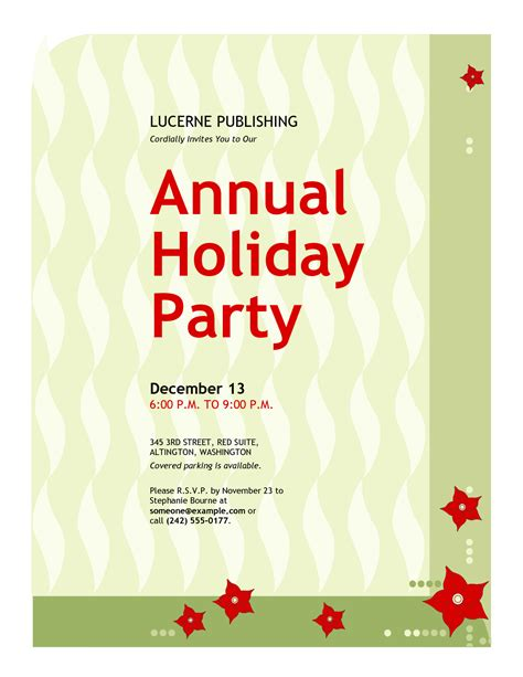 office christmas party invitation wording oxsvitation com