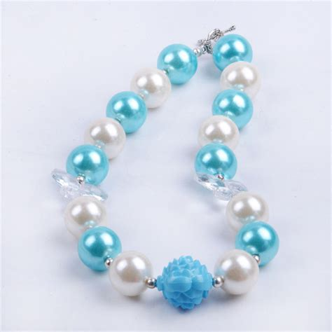 bead necklaces in bulk 2015 fashion jewelry cheap chunky beaded necklace