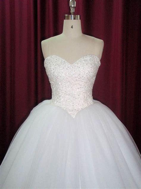 strapless princess wedding dress pinkous