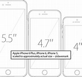 Image result for iPhone 7 Plus Actual size