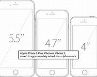 Image result for iPhone 6S Actual size