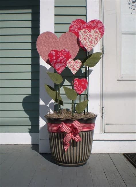 heart decorations for the home excellent outdoor home porch valentine ideas display