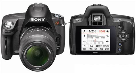 Second Dslr Sony A290 sony s upcoming a290 dslr leaked