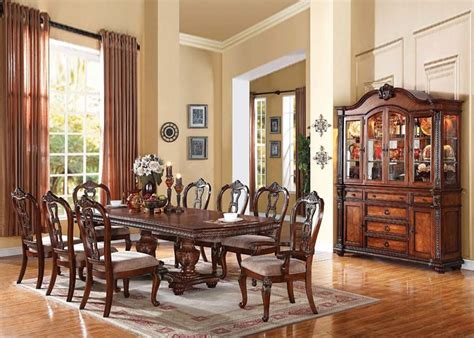 formal dining room sets furniture gwyneth formal dining room set with leg table