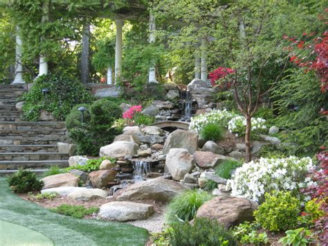 backyard fountains and waterfalls garden waterfalls traditional landscape other metro