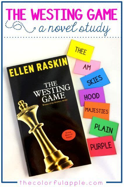 Novel The Westing the westing is a wonderfully intriguing mystery and a great novel study for