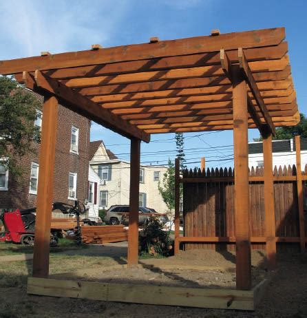 Pavillon 2x4 by Designing A Pergola From The Ground Up Professional Deck