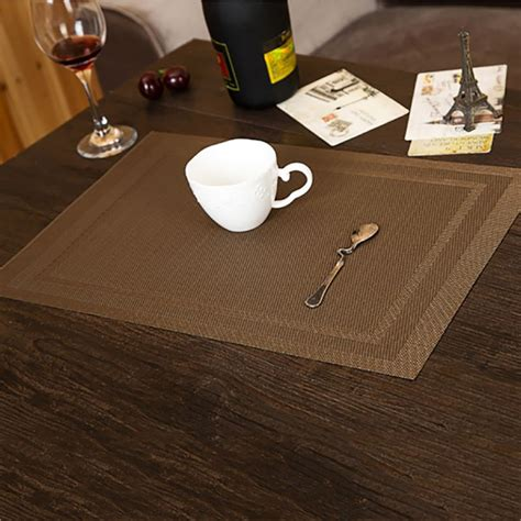 pvc insulation bowl tableware placemat place mat coaster