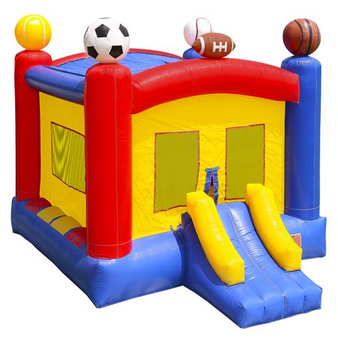commercial grade bounce house commercial grade 100 pvc sports inflatable bounce house bouncy jumper w blower ebay