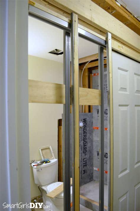 install  pocket door johnson hardware  series