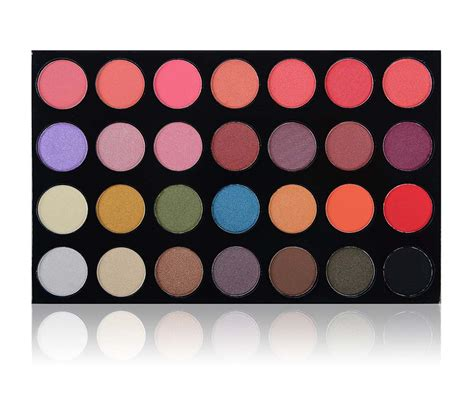 fashion jewerly shany the masterpiece 28 colors blush shadow combination palette