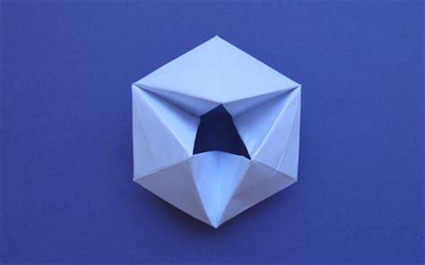 Hexaflexagon Origami - how to make a paper flexagon