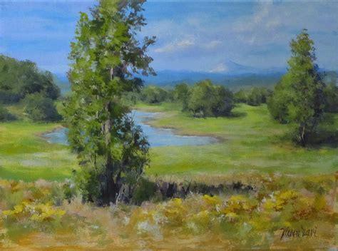 acrylic painting tutorial landscapes ilari painting quot summer pond quot an acrylic landscape
