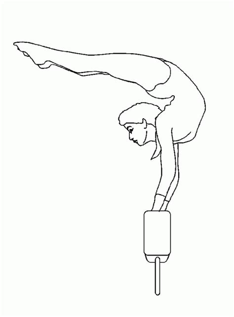coloring pages gymnastics coloring pages of gymnastics coloring home