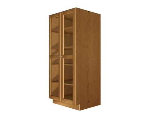 Glass Pantry Storage by 2 Glass Door Pantry Cabinet