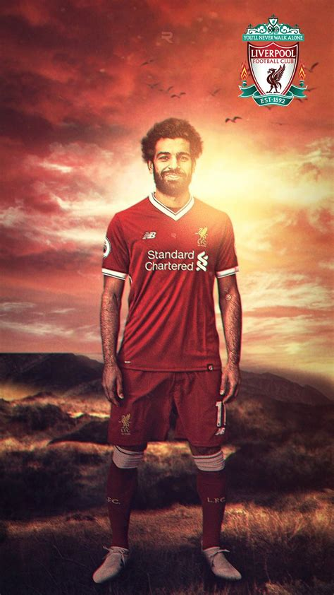 salah liverpool wallpaper iphone   iphone wallpaper