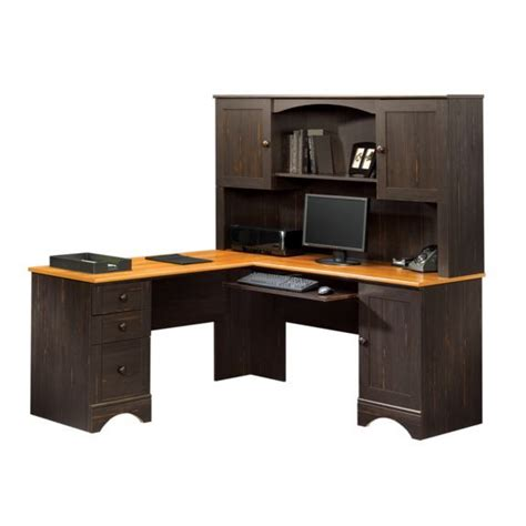 Harbor View Sauder Desk And Hutch Sauder Home Office Furniture
