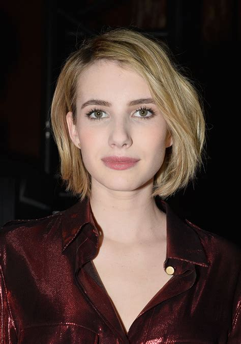 Emma Roberts in Paris   Lanvin show, Paris Fashion Week