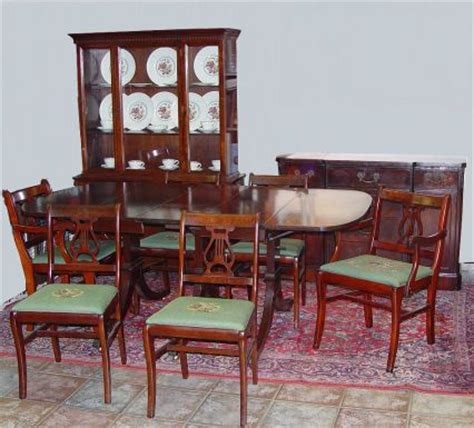 1940s dining room furniture 1280 1940 s mahogany 9 pc dining room set lot 1280
