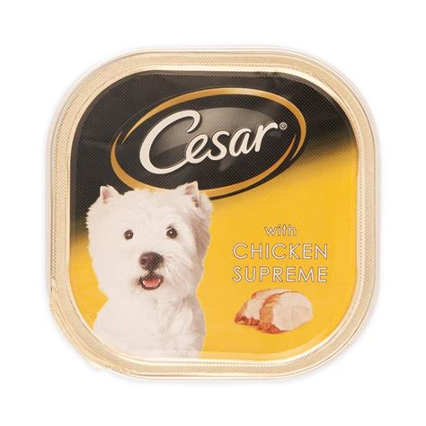 Food Cesar Chicken Vegetables 100gr cesar with chicken supreme food 100g woolworths co za