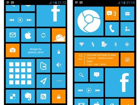 windows 8 theme for android phone free apk descargar wp8 launcher android android zone