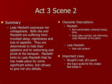 themes in macbeth act 2 macbeth act 3 notes