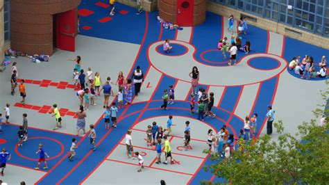 Landscape Architecture Schools New York Ps 234 Independence School Play Yard New York Usa Kan