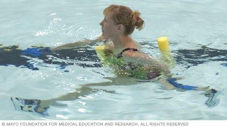 show aquatic exercises mayo clinic